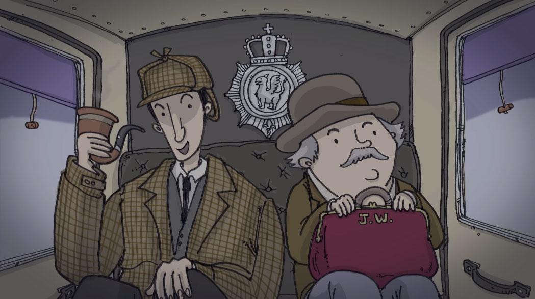 Der Sherlock Holmes Adventskalender