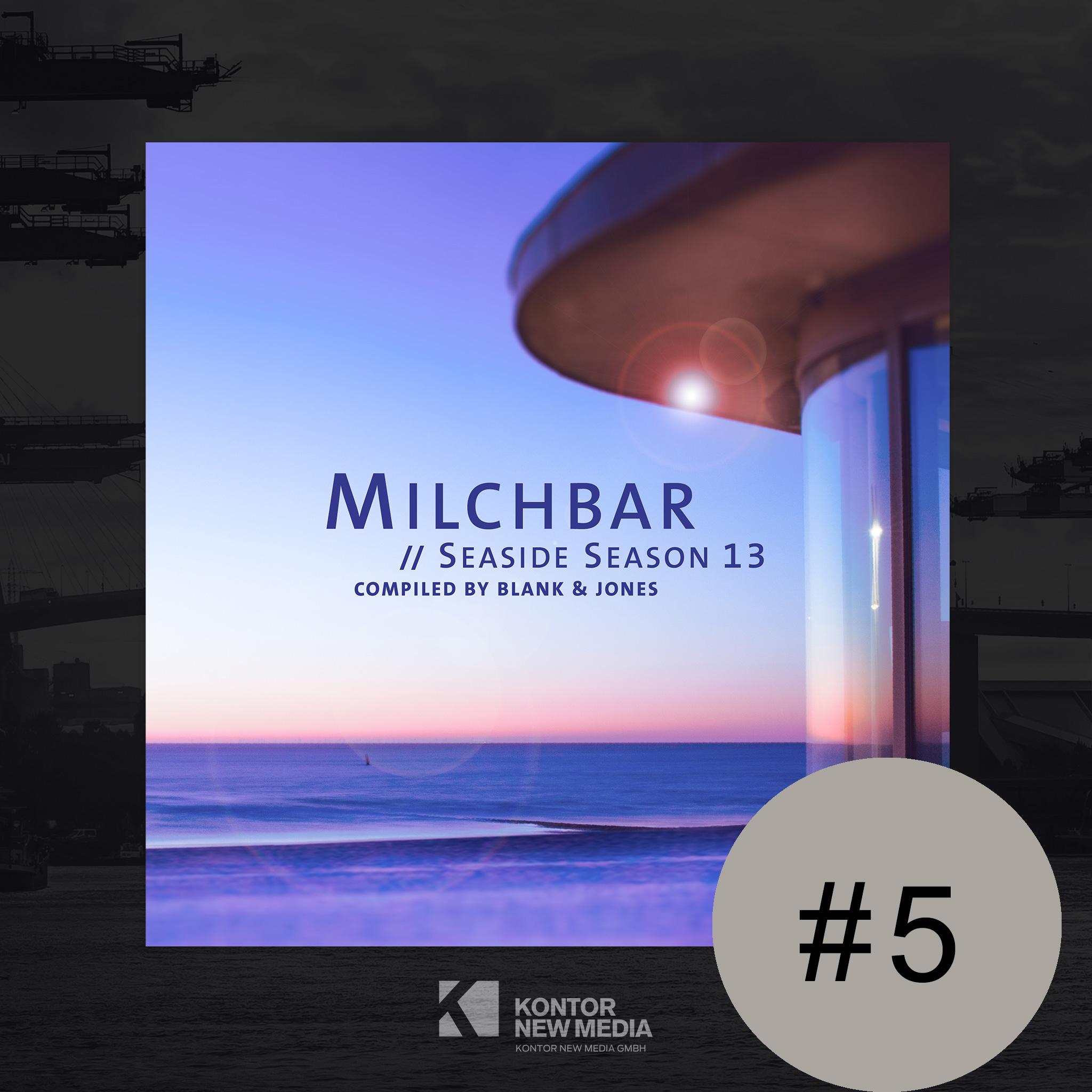 """Blank & Jones """"Milchbar Seaside Season 13″ auf Platz #5 der Offiziellen Deutschen Charts"""