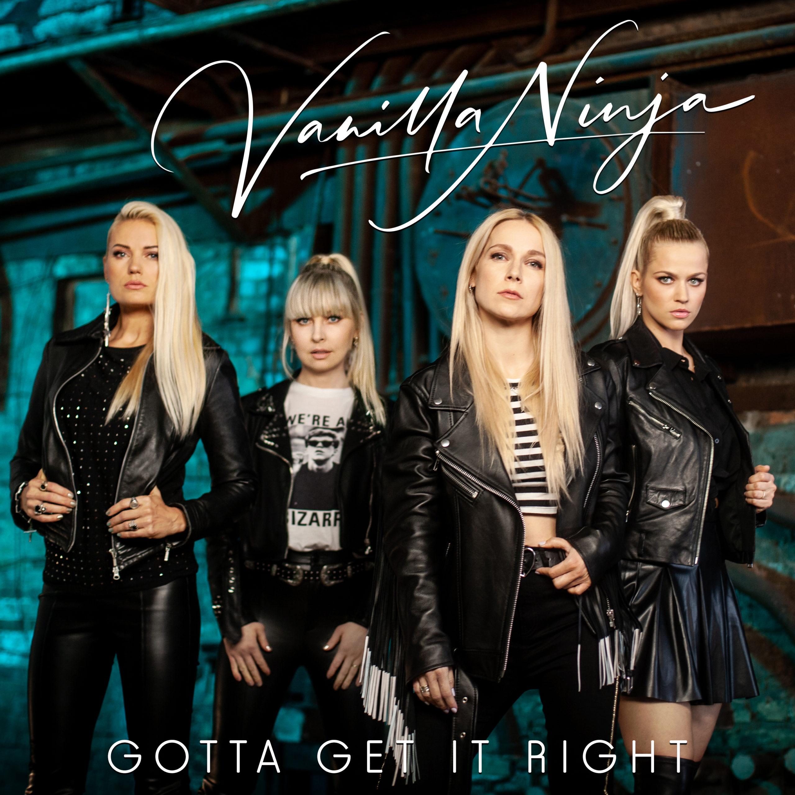 "Vanilla Ninja ""Gotta Get It Right"" Single-Release"